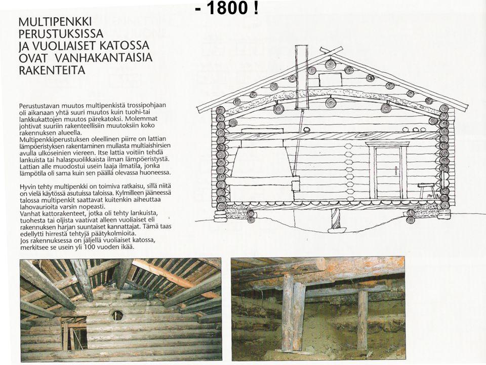 - 1800 ! HIRSIRAKENTAMINEN Sauli Paloniitty