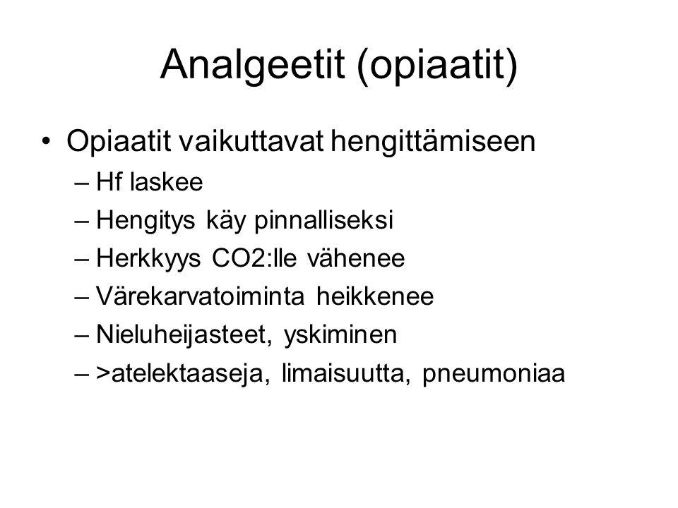 Analgeetit (opiaatit)