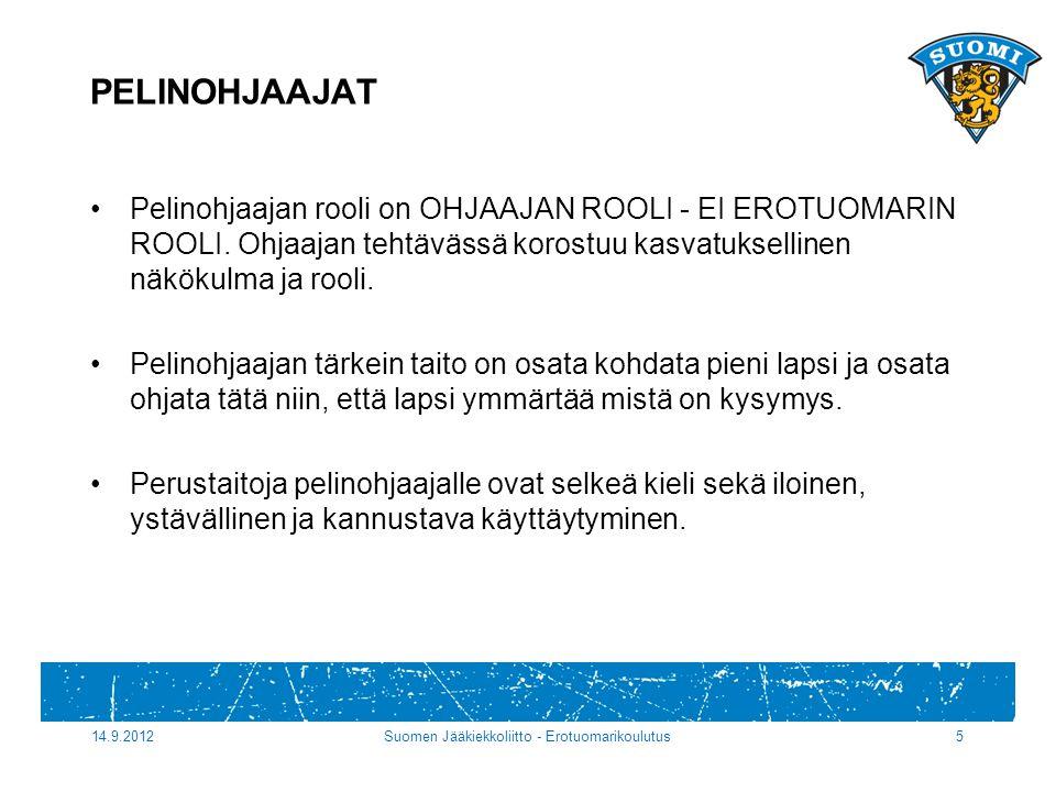 Suomen Jääkiekkoliitto - Erotuomarikoulutus