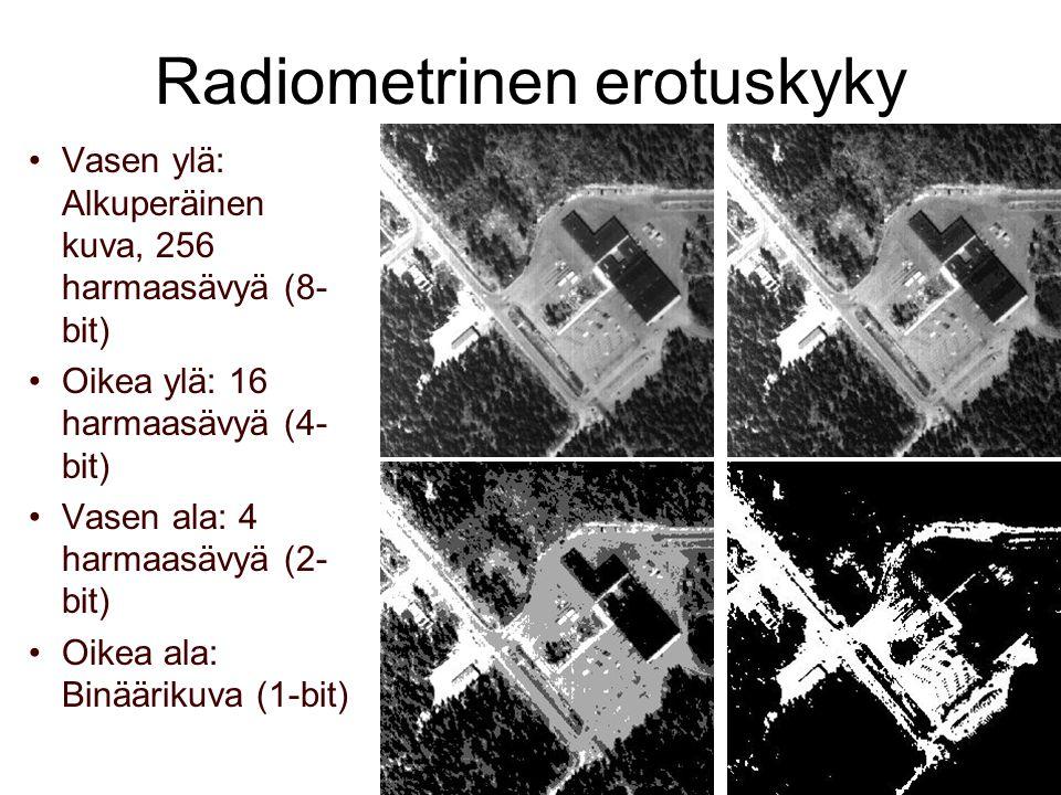 Radiometrinen erotuskyky