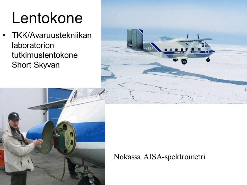 Lentokone TKK/Avaruustekniikan laboratorion tutkimuslentokone Short Skyvan.