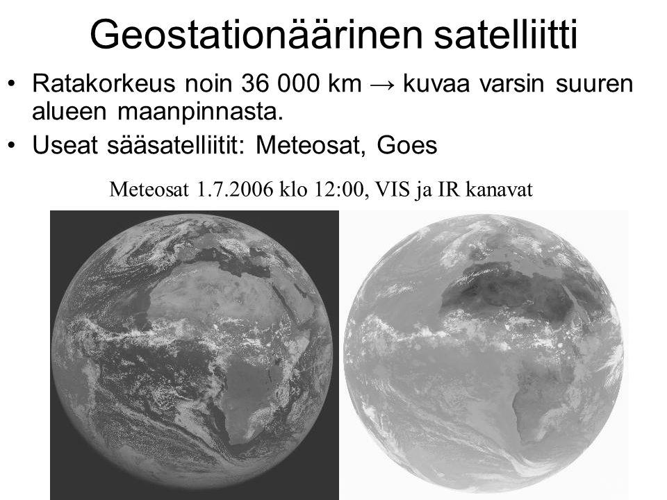 Geostationäärinen satelliitti