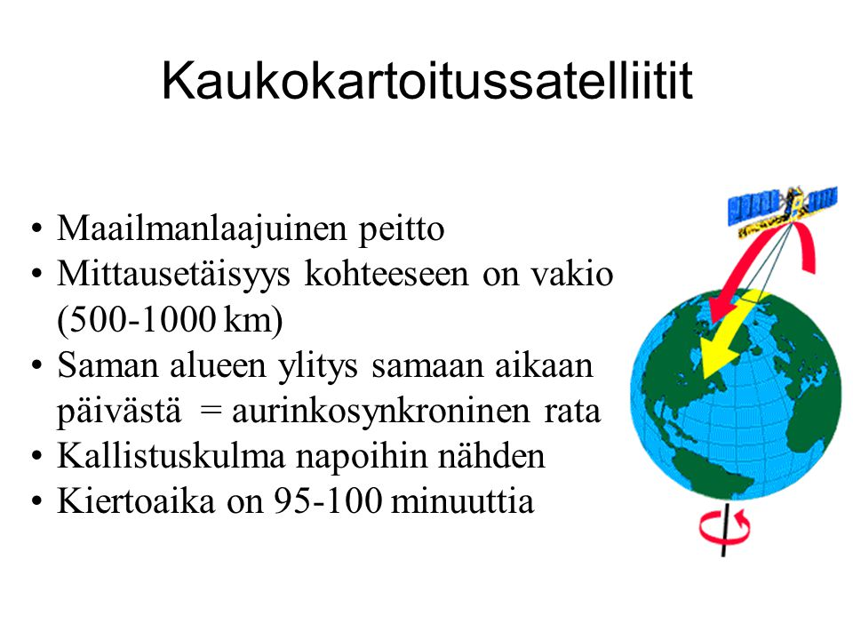 Kaukokartoitussatelliitit