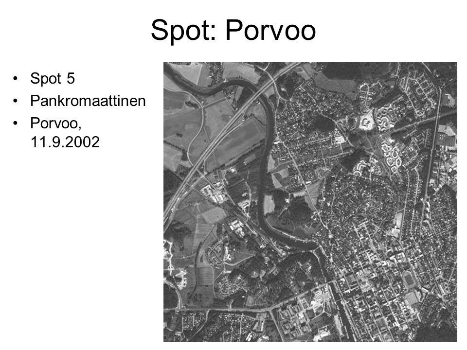 Spot: Porvoo Spot 5 Pankromaattinen Porvoo, 11.9.2002