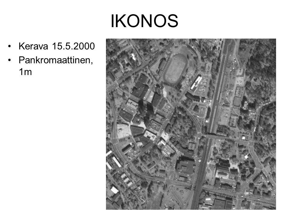 IKONOS Kerava 15.5.2000 Pankromaattinen, 1m