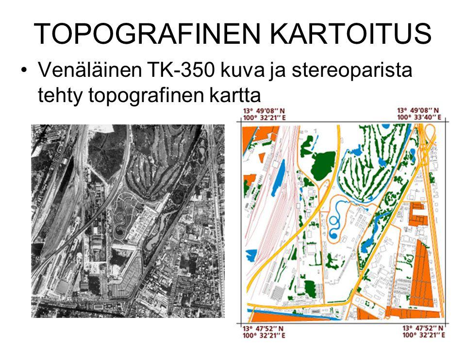 TOPOGRAFINEN KARTOITUS