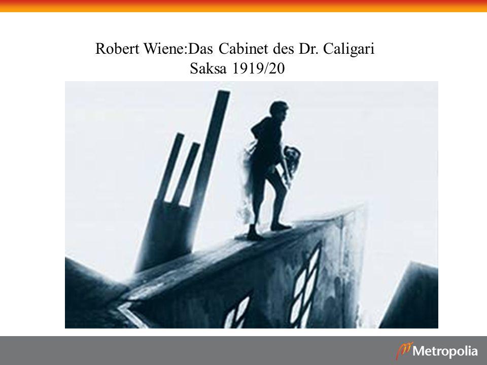 Robert Wiene:Das Cabinet des Dr. Caligari