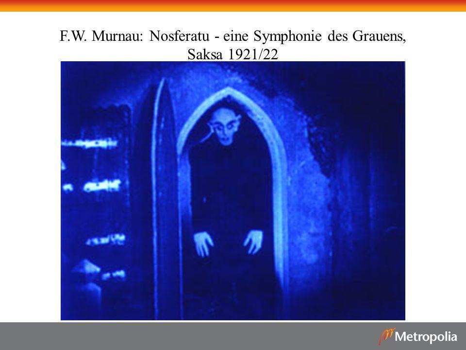 F.W. Murnau: Nosferatu - eine Symphonie des Grauens,