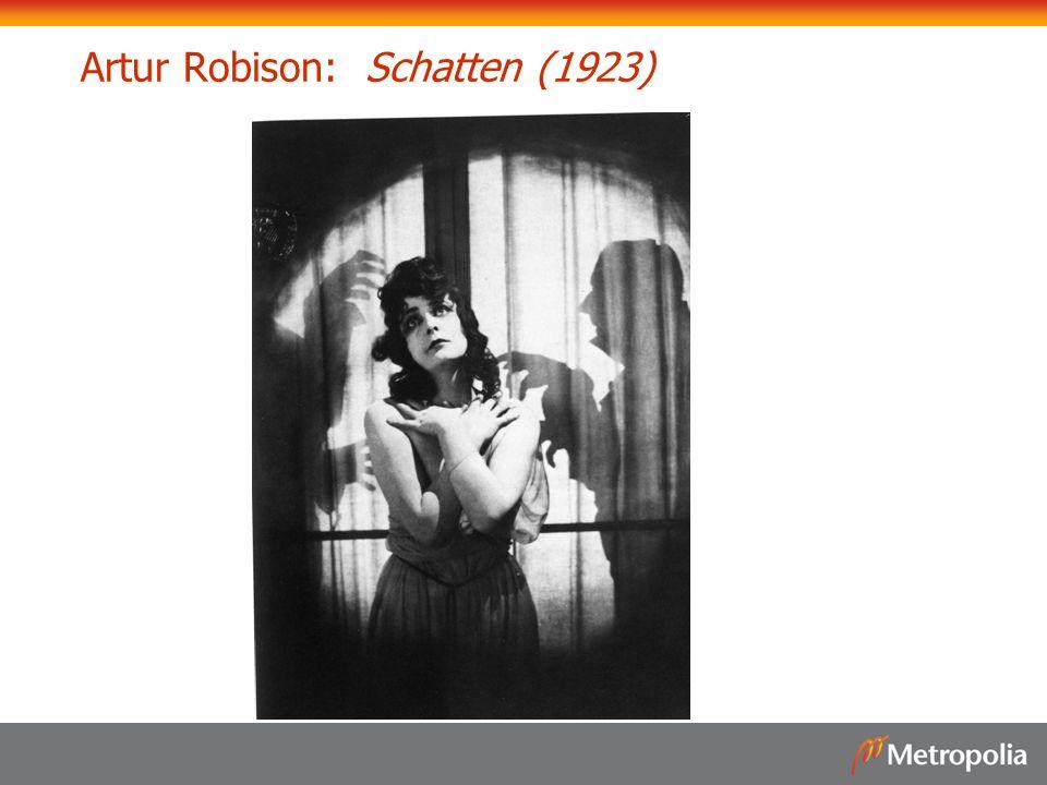 Artur Robison: Schatten (1923)