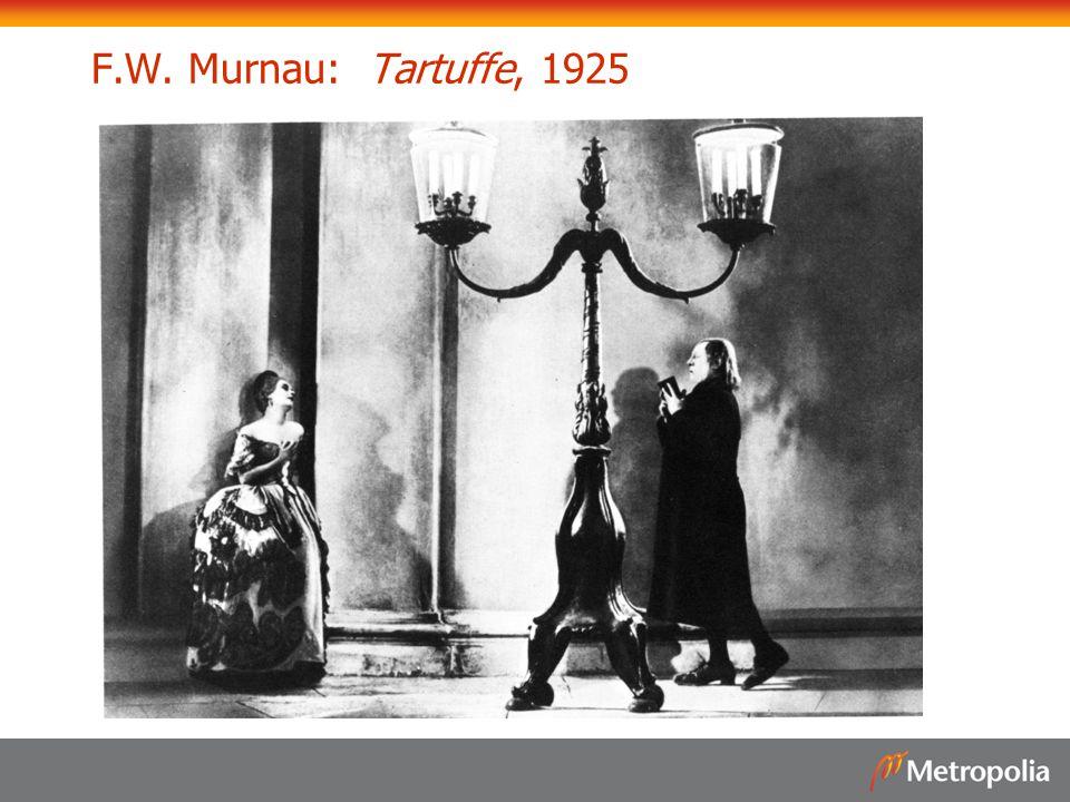 F.W. Murnau: Tartuffe, 1925