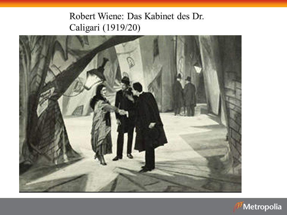 Robert Wiene: Das Kabinet des Dr. Caligari (1919/20)
