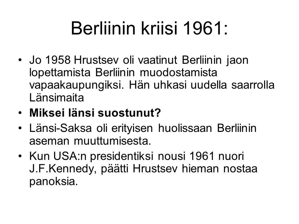 Berliinin kriisi 1961: