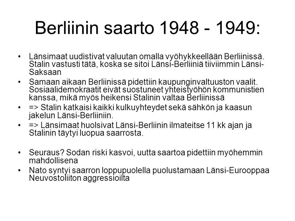 Berliinin saarto 1948 - 1949: