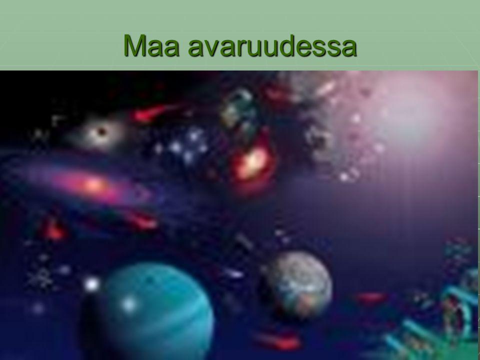 Maa avaruudessa