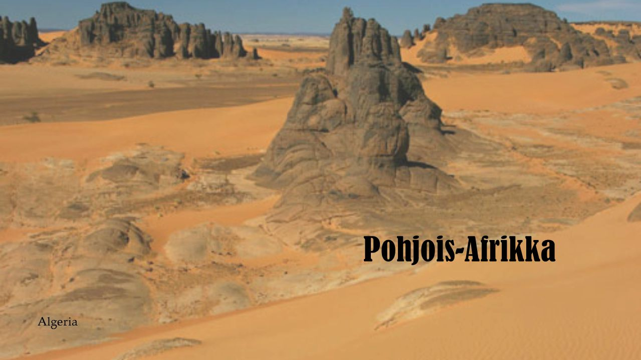 Pohjois-Afrikka Algeria
