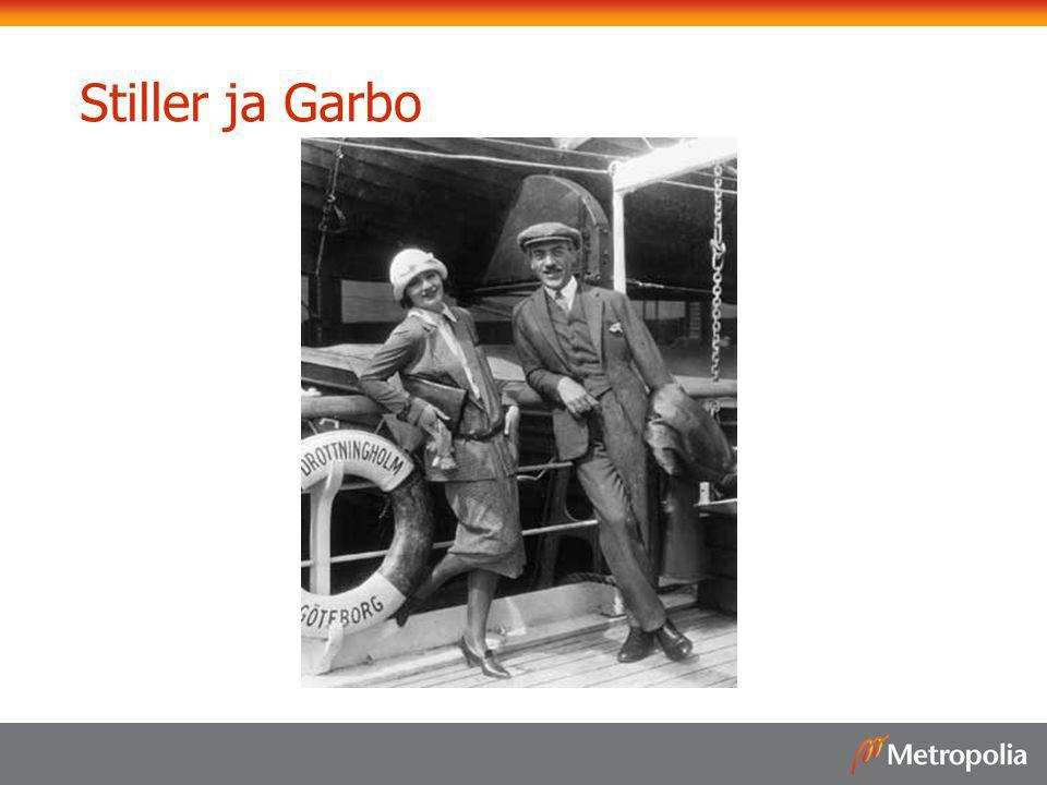 Stiller ja Garbo