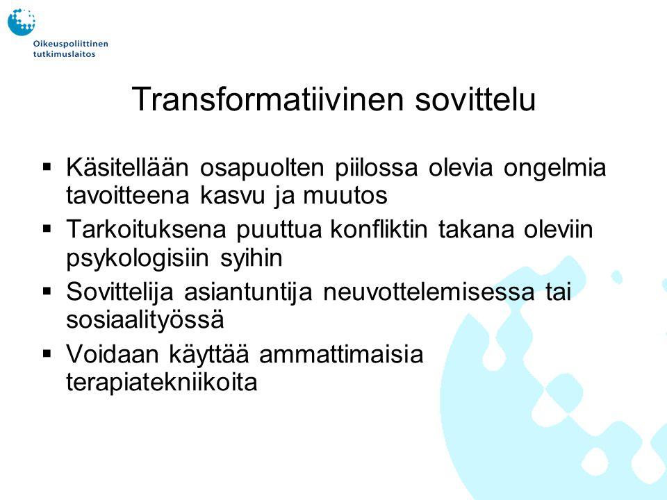 Transformatiivinen sovittelu