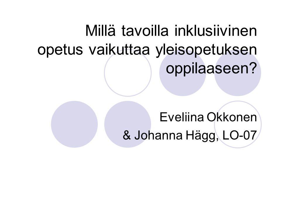 Eveliina Okkonen & Johanna Hägg, LO-07