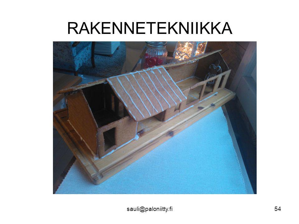 RAKENNETEKNIIKKA sauli@paloniitty.fi