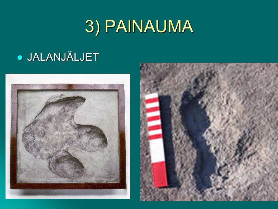 3) PAINAUMA JALANJÄLJET