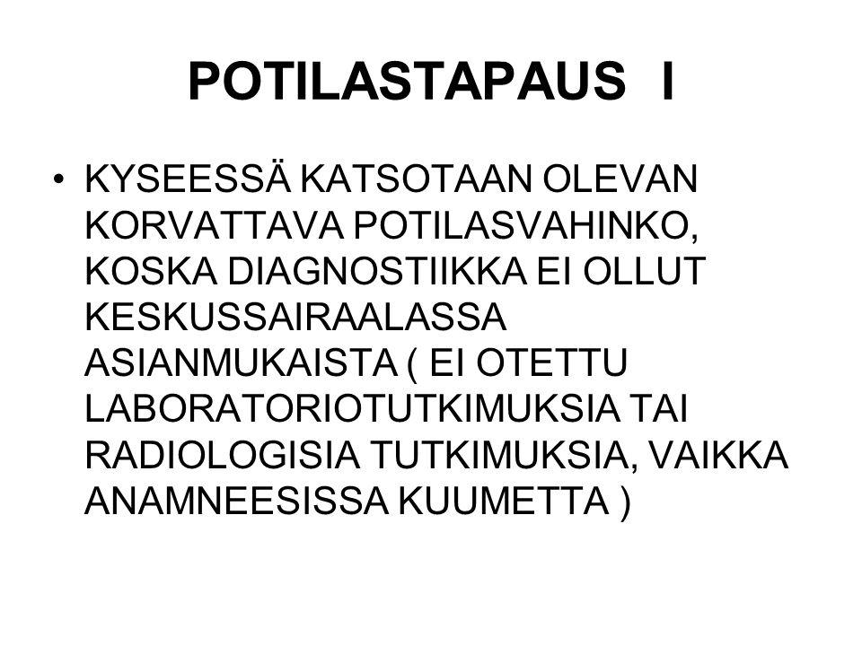 POTILASTAPAUS I