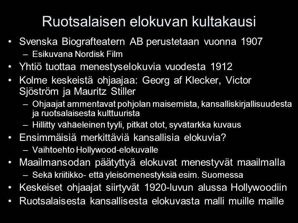 Ruotsalaisen elokuvan kultakausi