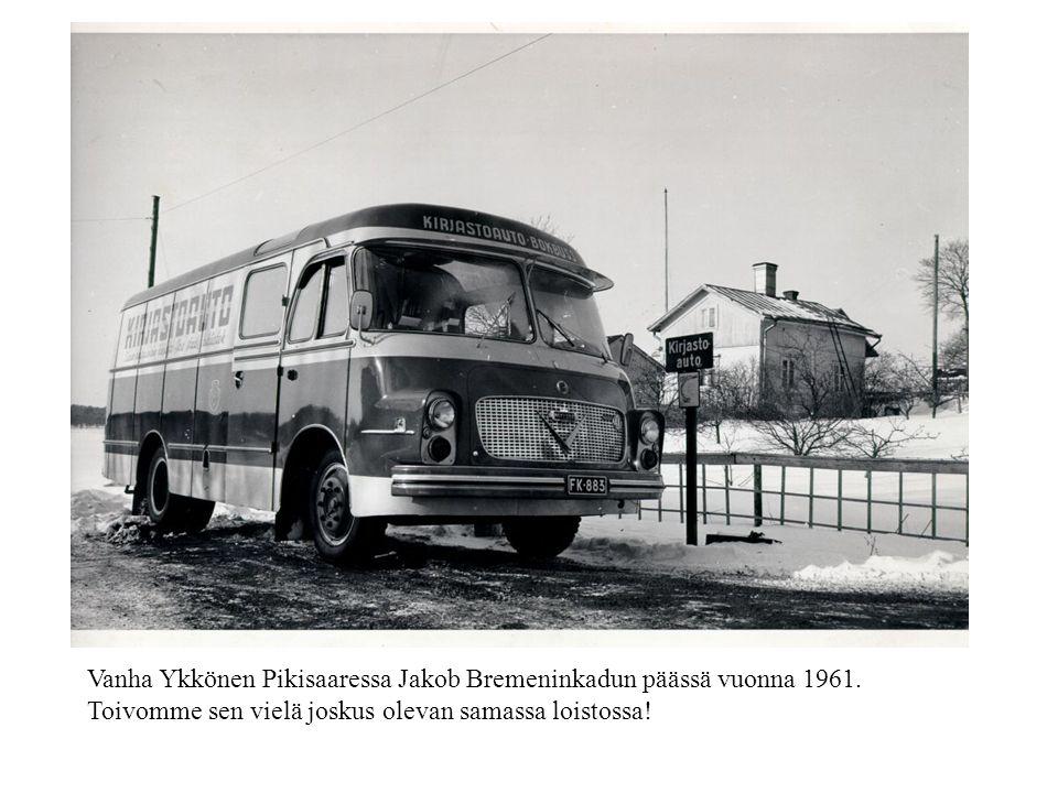 Vanha Ykkönen Pikisaaressa Jakob Bremeninkadun päässä vuonna 1961.