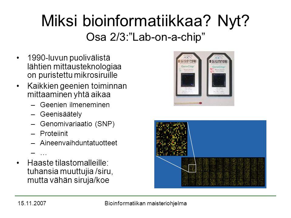 Bioinformatiikka ja mbi ohjelma ppt lataa for Lab on a chip template