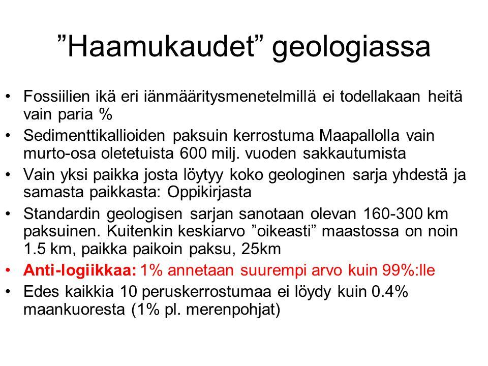 Haamukaudet geologiassa