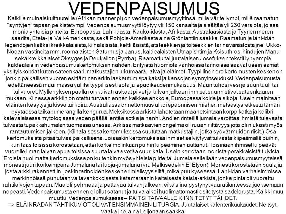VEDENPAISUMUS
