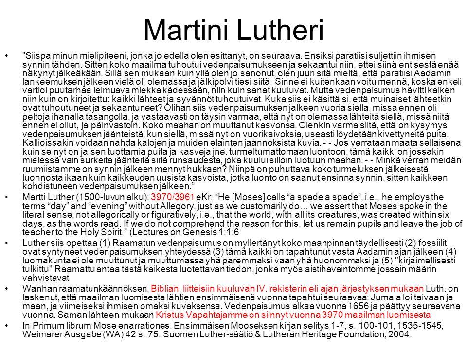 Martini Lutheri