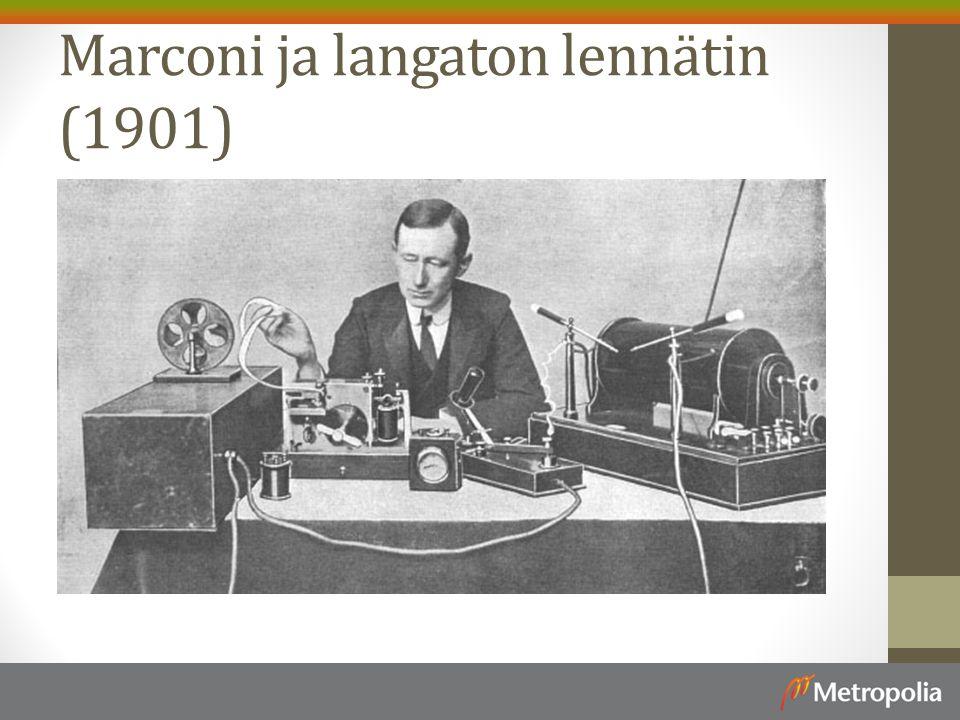 Marconi ja langaton lennätin (1901)