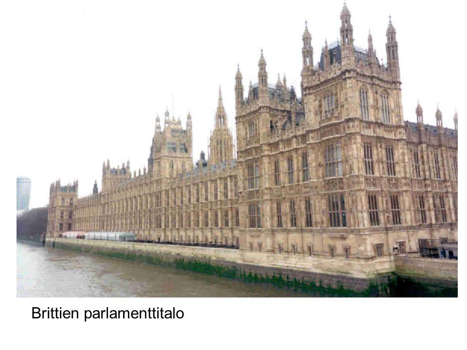 Brittien parlamenttitalo