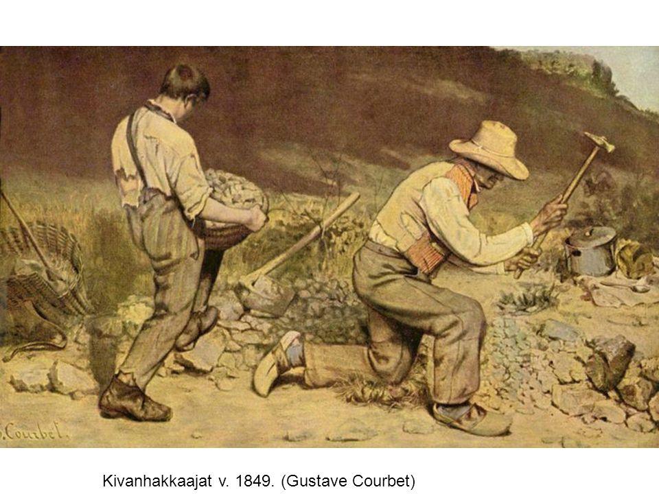 Kivanhakkaajat v. 1849. (Gustave Courbet)
