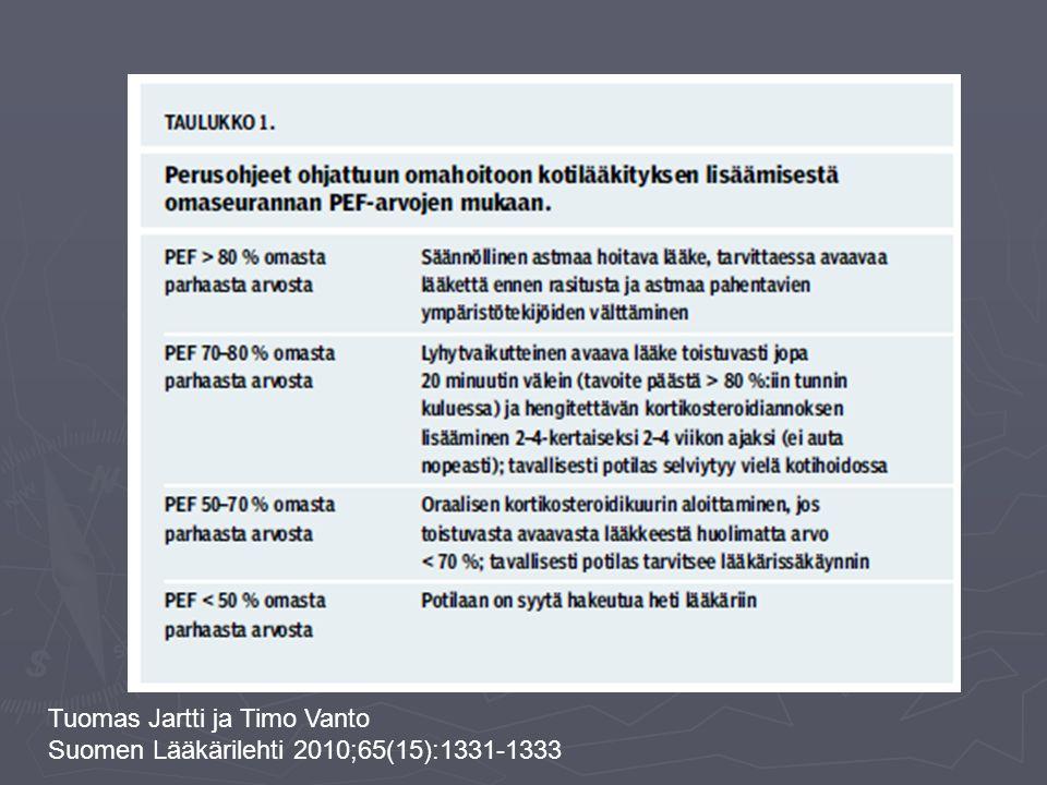Tuomas Jartti ja Timo Vanto