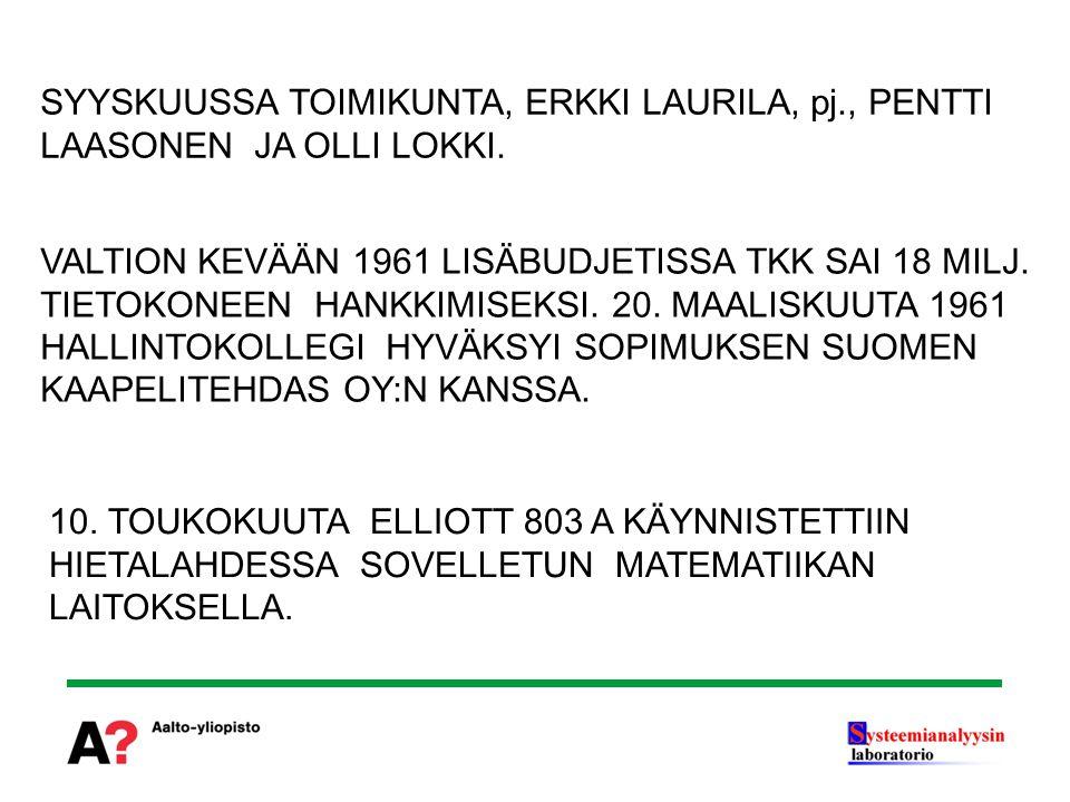 SYYSKUUSSA TOIMIKUNTA, ERKKI LAURILA, pj
