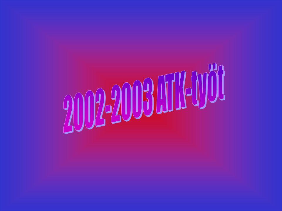 2002-2003 ATK-työt