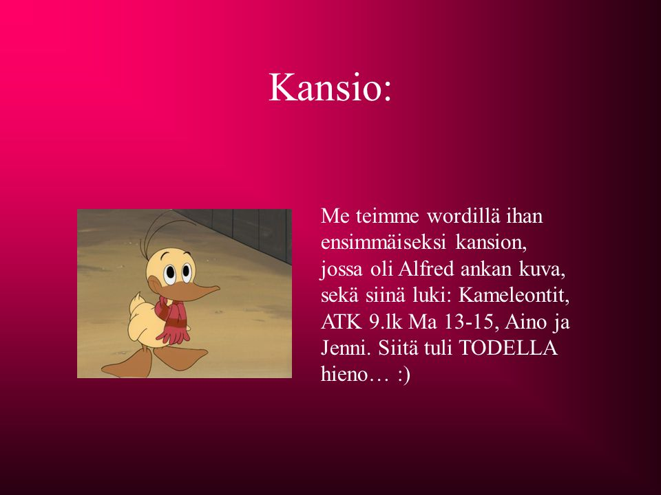 Kansio: