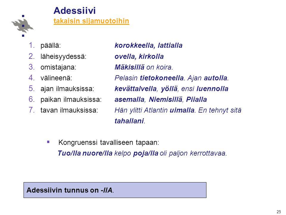 Suomen sijamuodot