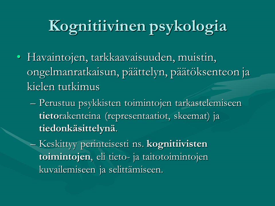 kognitiivinen psykoterapia kokemuksia Outokumpu