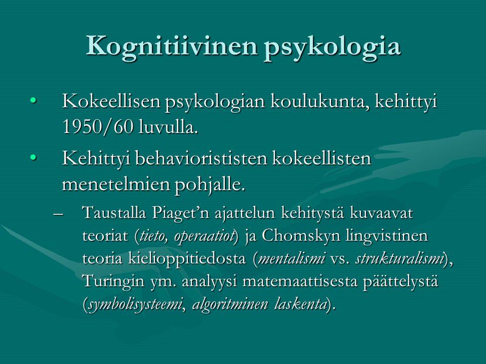 kognitiivinen psykoterapia Lapua