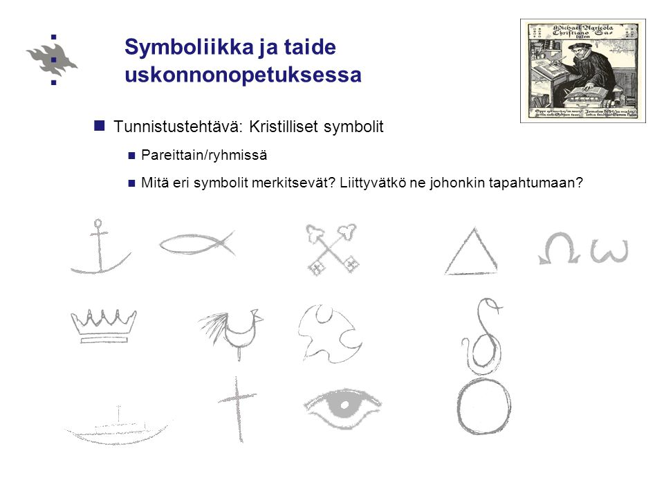 Symboliikka ja taide uskonnonopetuksessa
