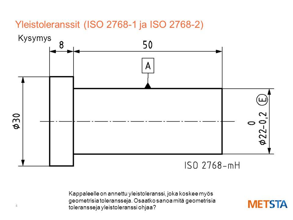 Yleistoleranssit (ISO 2768-1 ja ISO 2768-2)