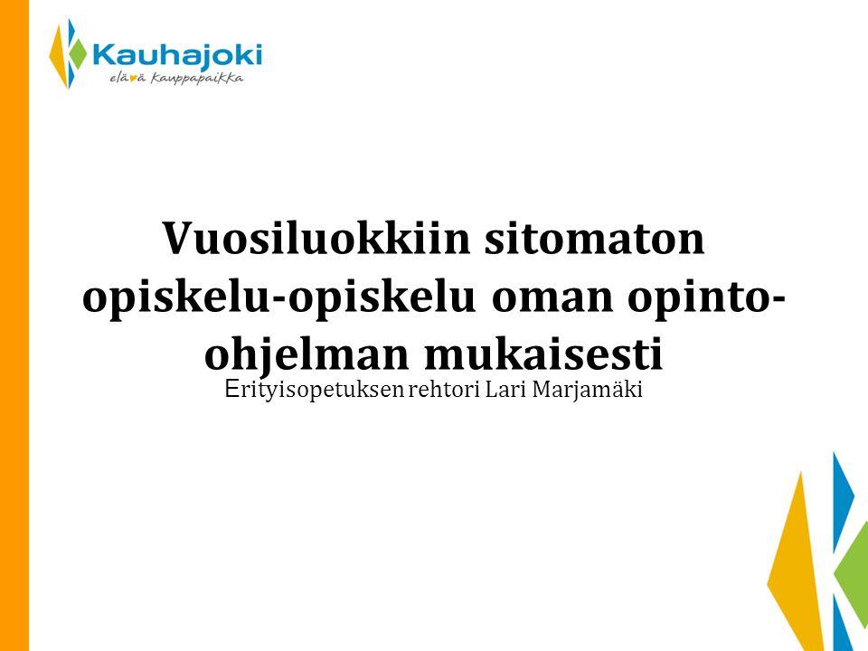 Erityisopetuksen rehtori Lari Marjamäki