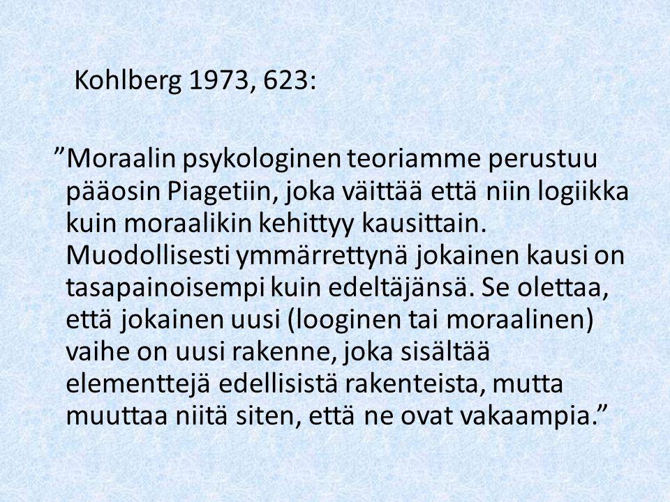 Kohlberg 1973, 623: