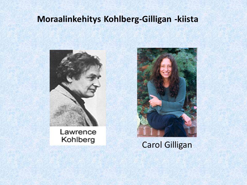 Moraalinkehitys Kohlberg-Gilligan -kiista