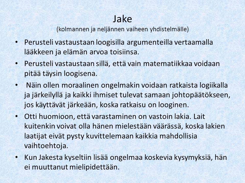 Jake (kolmannen ja neljännen vaiheen yhdistelmälle)