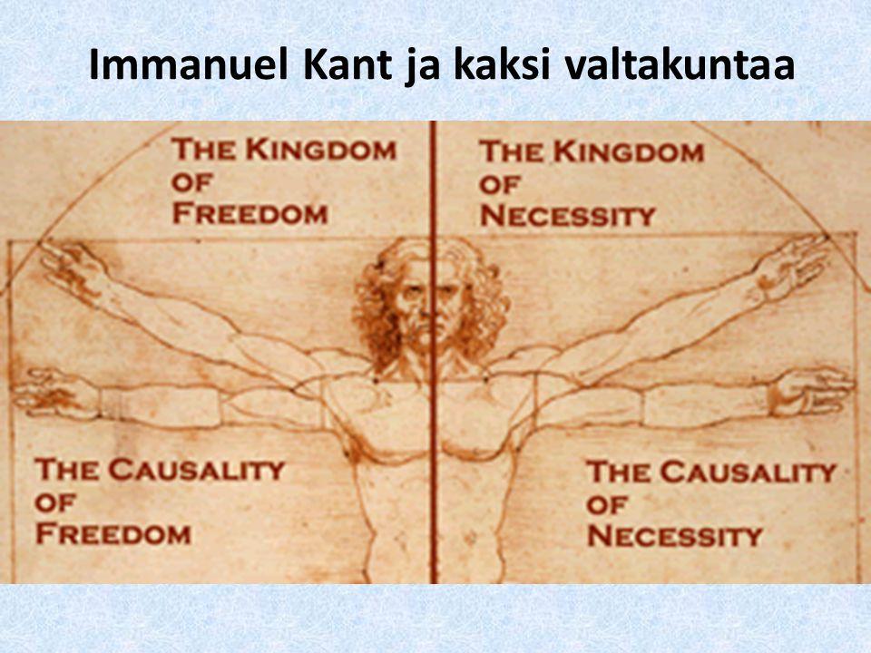 Immanuel Kant ja kaksi valtakuntaa
