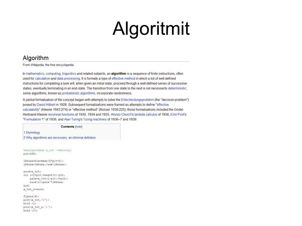 Algoritmit
