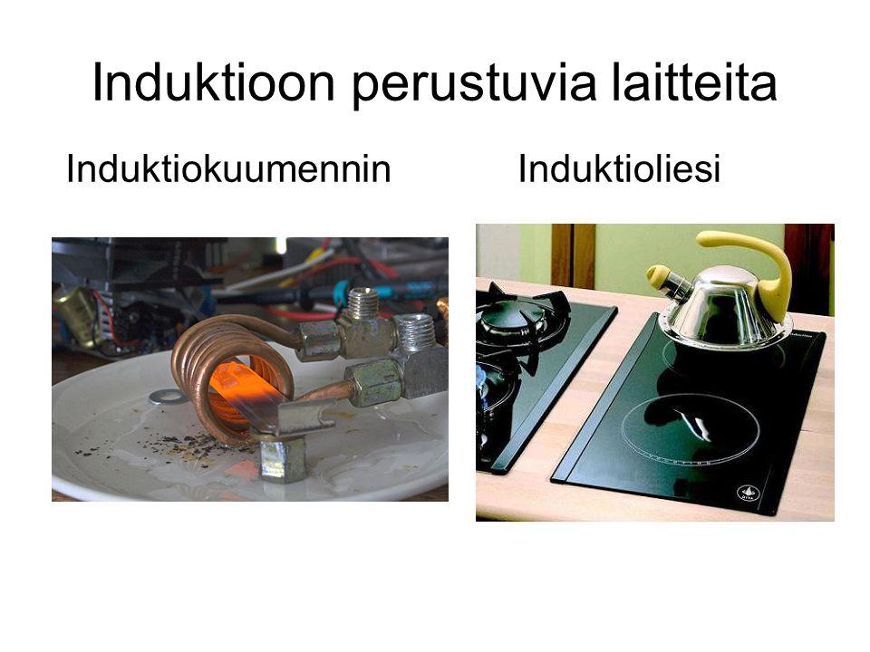 Induktioon perustuvia laitteita